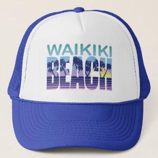 Waikiki Hawaii Trucker Hat