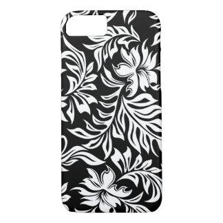 Waikiki Hibiscus Hawaiian Pareau Floral iPhone 8/7 Case