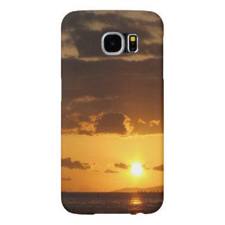 Waikiki Sunset Samsung Galaxy S6 Cases