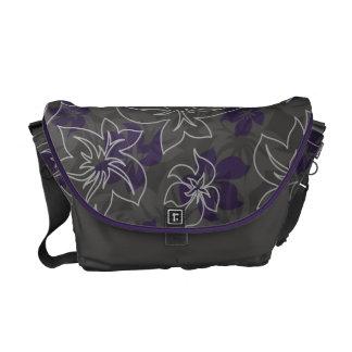 Wailea Hibiscus Camo Messenger Bag