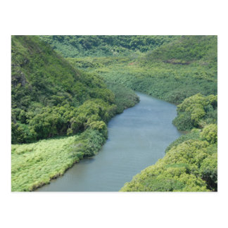 Wailua River - Kauai, Hawaii Postcard