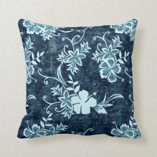 Waimanalo Hawaiian Hibiscus Square Pillows