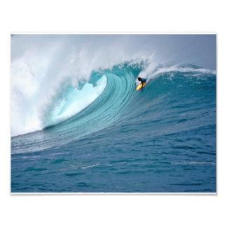 Waimea Bay Bodyboarder Photo Print