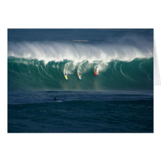 Waimea Bay Hawaii Card
