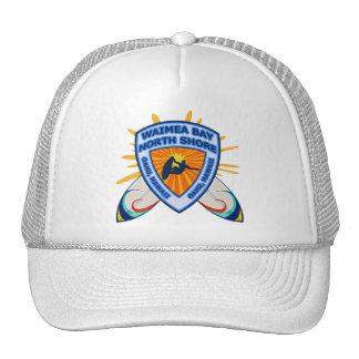 Waimea Bay, North Shore, Oahu, Hawaii Trucker Hats