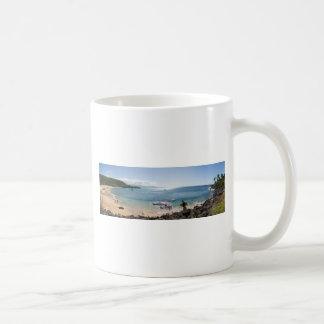 waimea bay panorama coffee mug