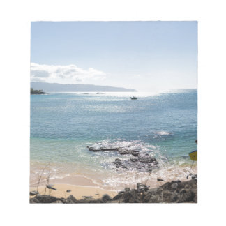 waimea bay panorama notepad