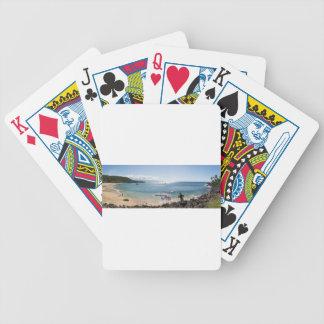 waimea bay panorama poker deck