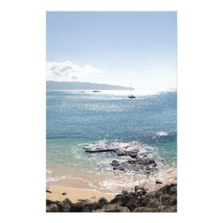 waimea bay panorama stationery
