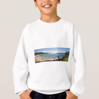 waimea bay panorama sweatshirt