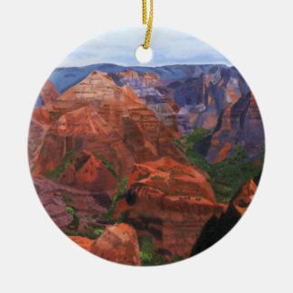 Waimea Canyon Ceramic Ornament