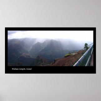 Waimea Canyon, Kauai Poster