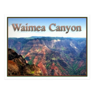 Waimea Canyon, Postcard