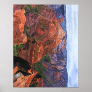 Waimea Canyon Poster
