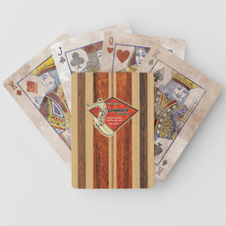 Waimea Surfboard Hawaiian Playing Cards