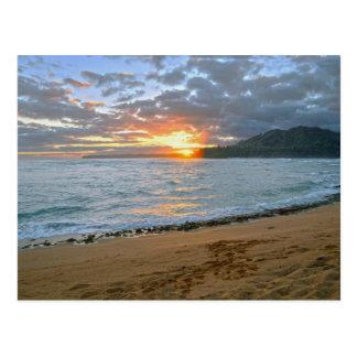 Wainiha Bay, Kauai, Hawaii, Sunrise Postcard