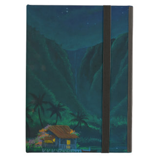 Wainiha Valley Home on a Starry Night iPad Air Covers