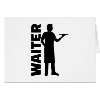 Waiter Card