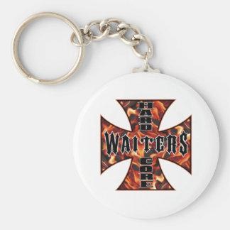 Waiter Hard Core Key Ring