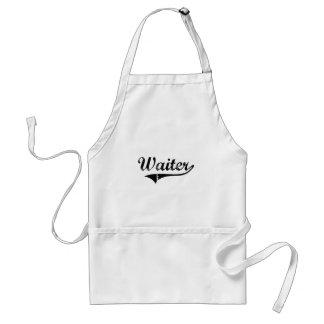 Waiter Professional Job Adult Apron