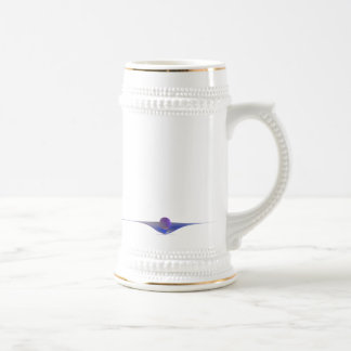 Waiting Abstract Art 18 Oz Beer Stein