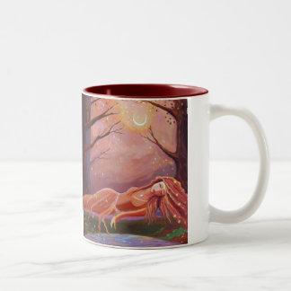 Waiting For A Dream - Fantasy Art Mug