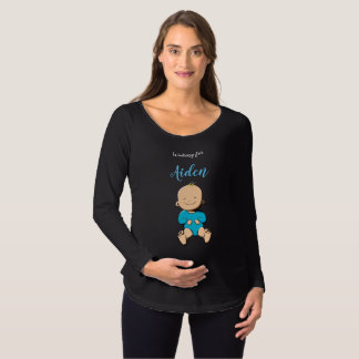 Waiting for... Aiden Maternity T-Shirt