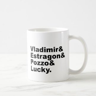 Waiting for Godot - Vladimir Estragon Pozzo Lucky Coffee Mug
