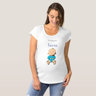 Waiting for... Lucas Maternity T-Shirt