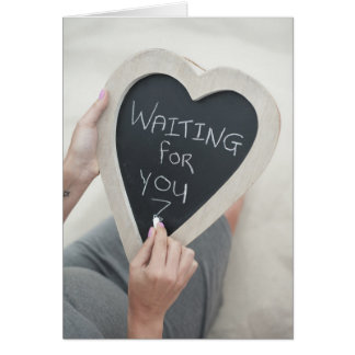 WAITING FOR YOU CARD