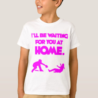 Waiting For You, hot pink T-Shirt
