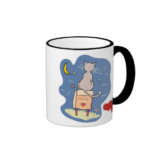 Waiting on a Love Letter Coffee Mugs
