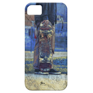 Waiting to Skate  - Skateboarder iPhone 5 Cover