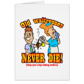 Waitresses Card