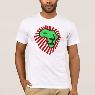 Waka waka Red Mane Green Lion Africa Shirt