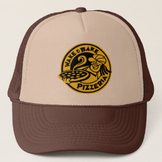 Wake & Bake Trucker Hat by Mini Brothers
