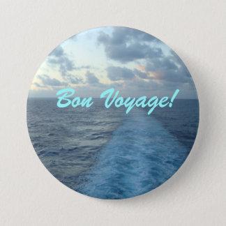 Wake Bon Voyage 7.5 Cm Round Badge