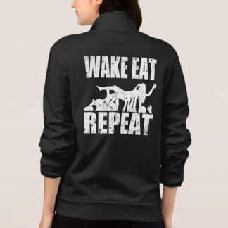 WAKE EAT crowd surf REPEAT (wht)