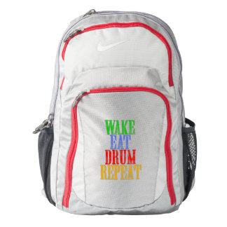 Wake Eat DRUM Repeat Backpack