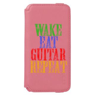 Wake Eat GUITAR Repeat Incipio Watson™ iPhone 6 Wallet Case