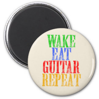 Wake Eat GUITAR Repeat Magnet