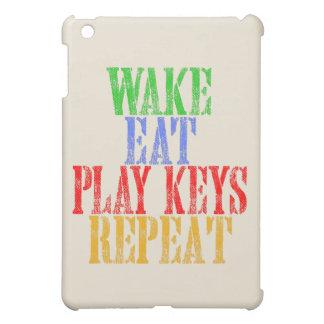 Wake Eat PLAY KEYS Repeat Case For The iPad Mini