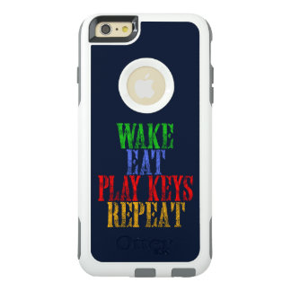 Wake Eat PLAY KEYS Repeat OtterBox iPhone 6/6s Plus Case