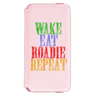 Wake Eat ROADIE Repeat Incipio Watson™ iPhone 6 Wallet Case