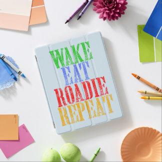 Wake Eat ROADIE Repeat iPad Cover
