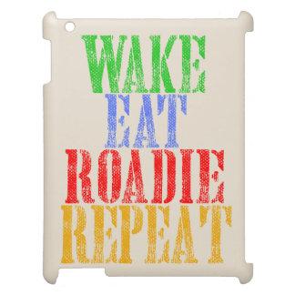 Wake Eat ROADIE Repeat iPad Covers