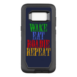Wake Eat ROADIE Repeat OtterBox Defender Samsung Galaxy S8 Case
