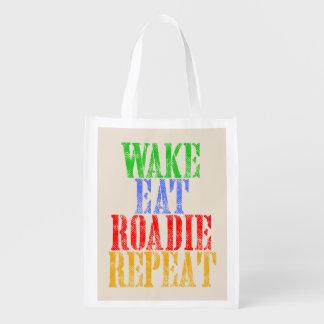 Wake Eat ROADIE Repeat Reusable Grocery Bag