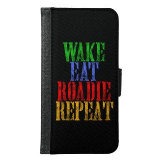 Wake Eat ROADIE Repeat Samsung Galaxy S6 Wallet Case
