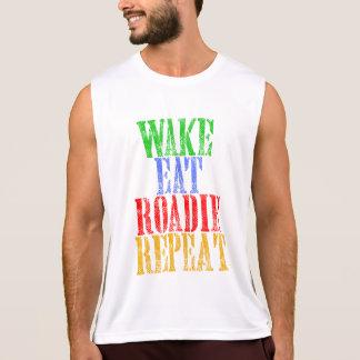 Wake Eat ROADIE Repeat Singlet